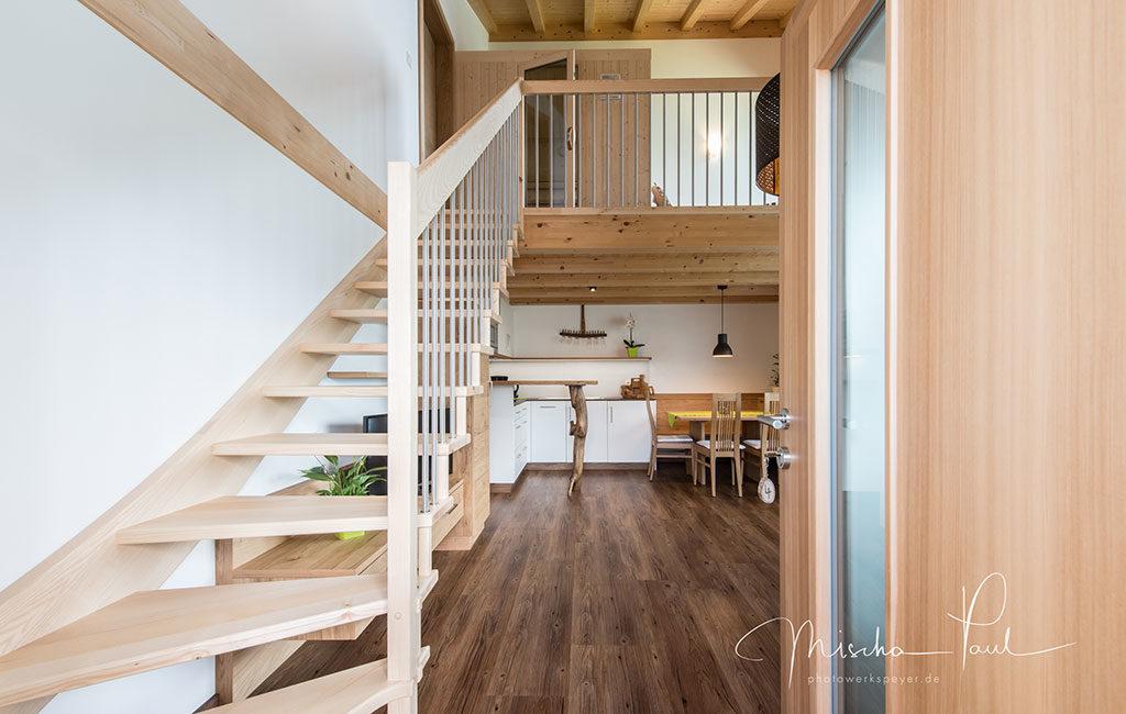 Holztreppe Passeiertal